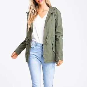 H&M Divided Hooded Anorak Jacket